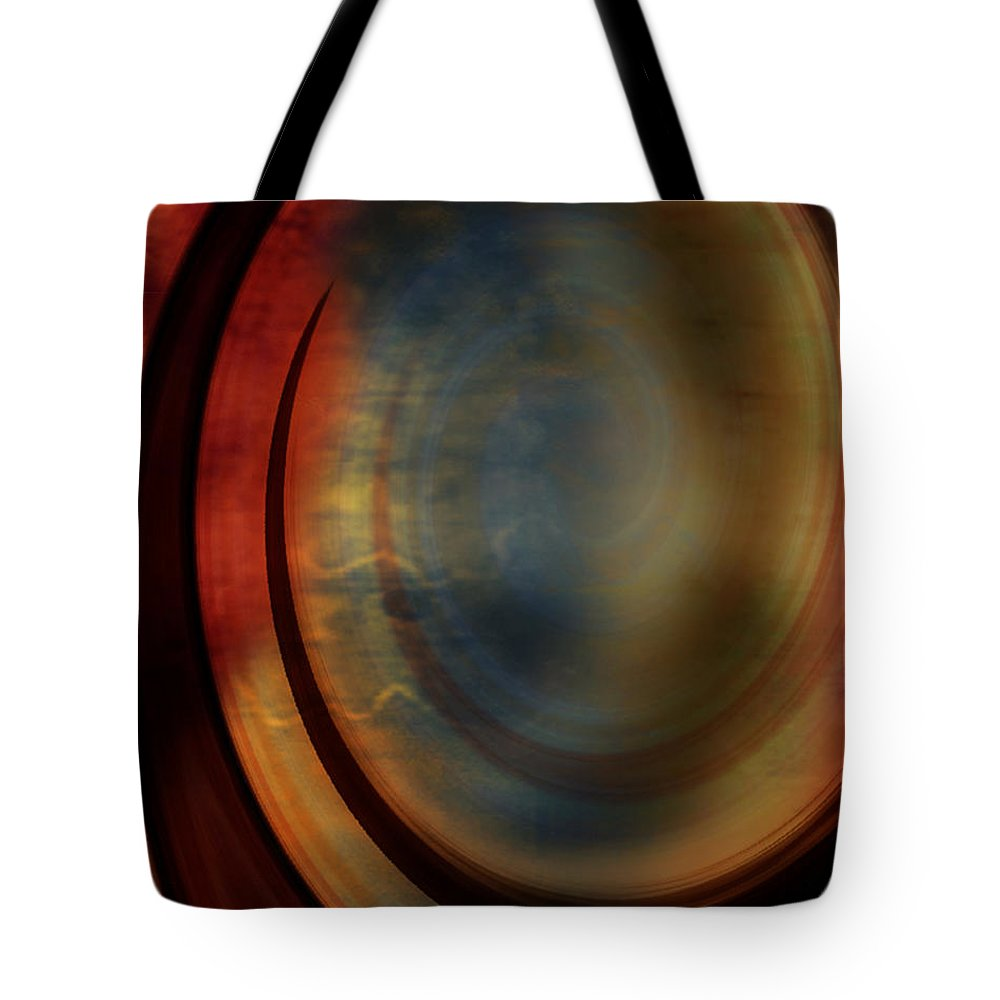 Tuscan 2 Tote Bag featuring the painting Tuscan 2 by Jill English