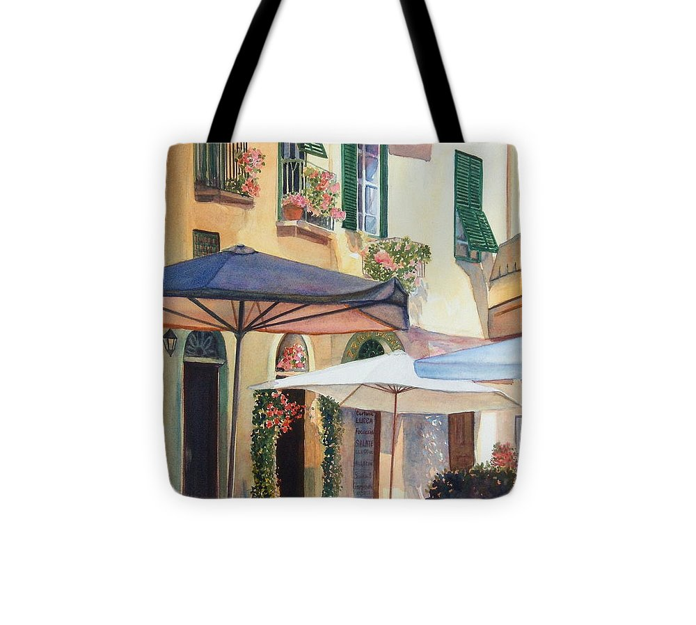 Tuscan Tote Bag featuring the painting Tuscan Sunlight by Ann Cockerill