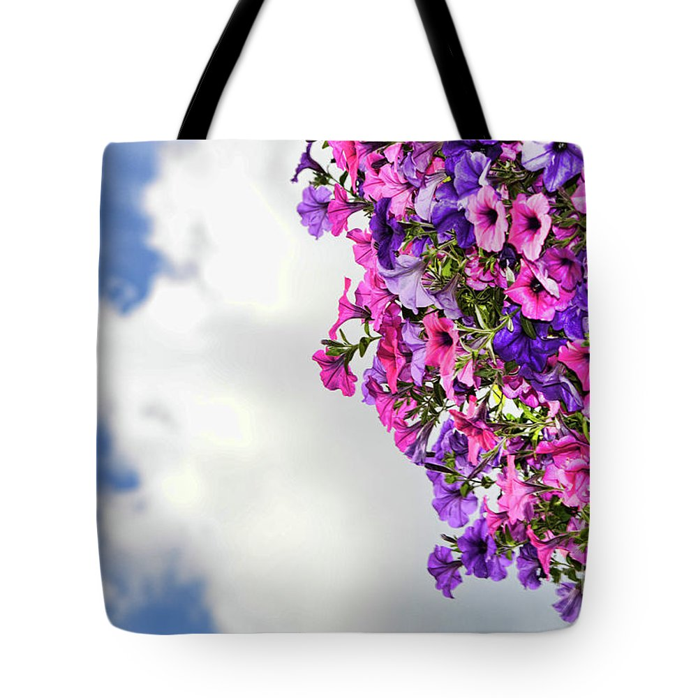Red Tote Bag featuring the photograph Tutti Frutti by Traci Cottingham