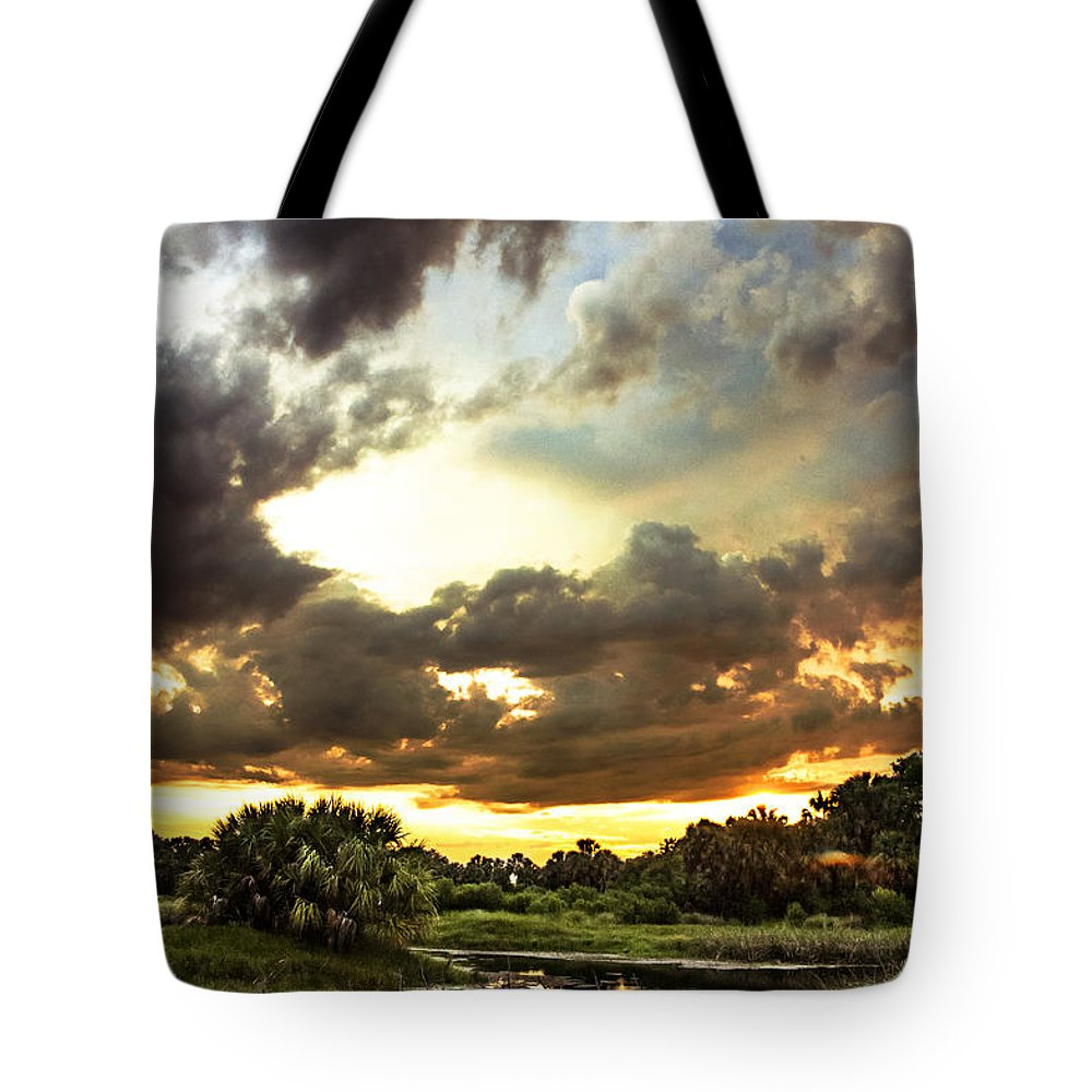 Sunset Tote Bag featuring the photograph Twilight by Norman Johnson