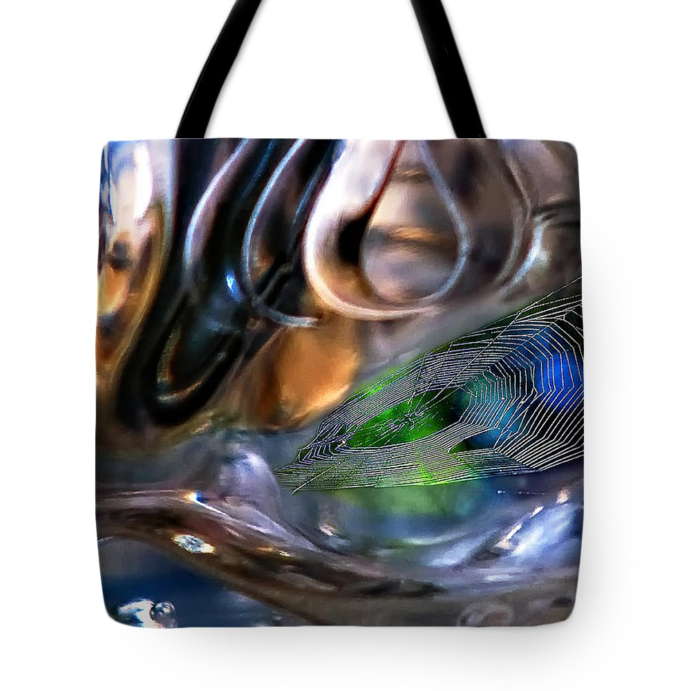 Twilight Zone Tote Bag featuring the photograph Twilight Zone by Steve Harrington