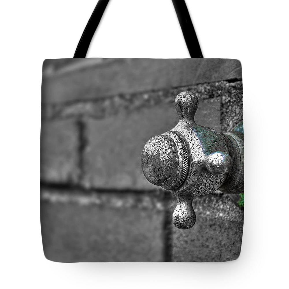 Beach Tote Bag featuring the photograph Twist And Turn by Evelina Kremsdorf