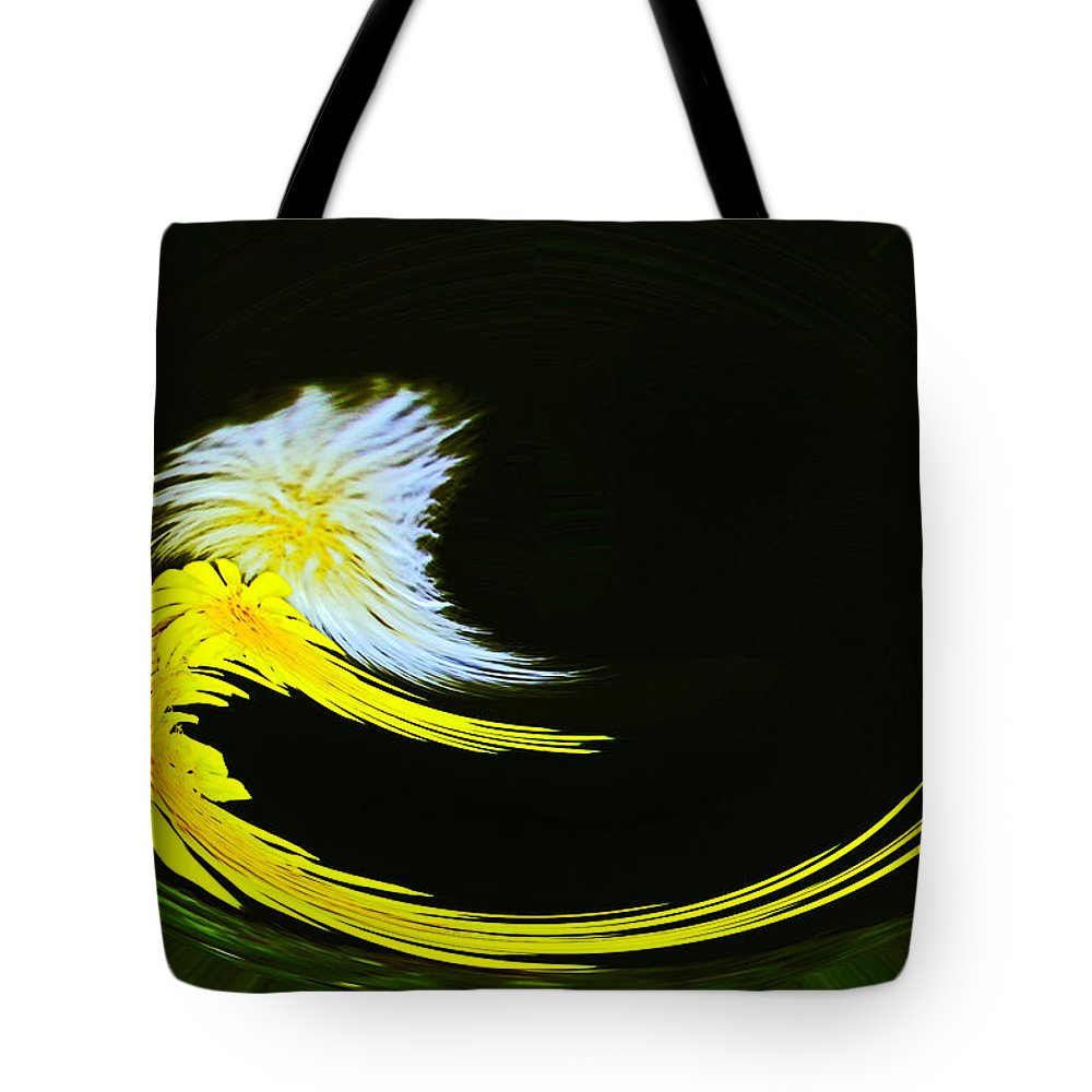 Twisted Sister Tote Bag featuring the photograph Twisted Sisters by David Kehrli