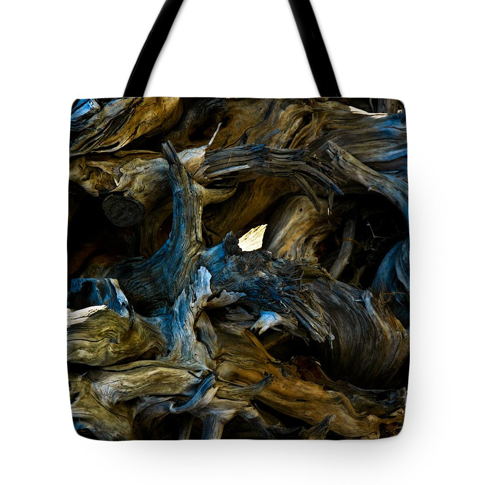 Pattern Tote Bag featuring the photograph Twisted by Venetta Archer