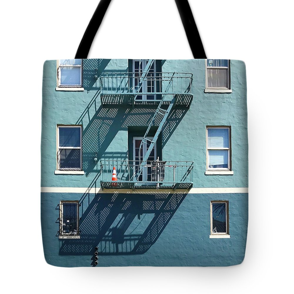 Tote Bag featuring the photograph Two Blues by Julie Gebhardt