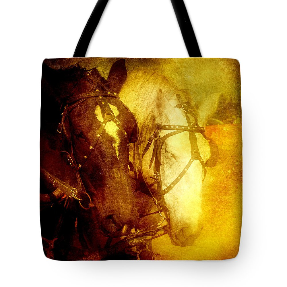 America Tote Bag featuring the photograph Two Horsepower by Joel Witmeyer
