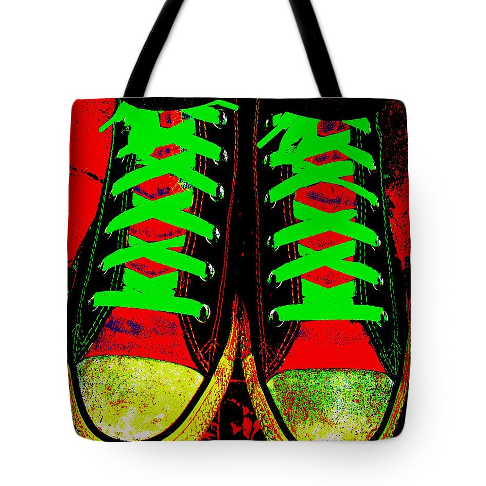 Still Life Tote Bag featuring the photograph Two Left Feet by Ed Smith