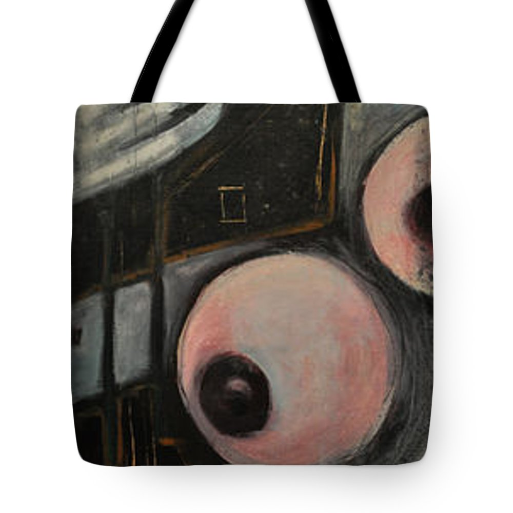 Nude Tote Bag featuring the painting Two Roses by Tim Nyberg