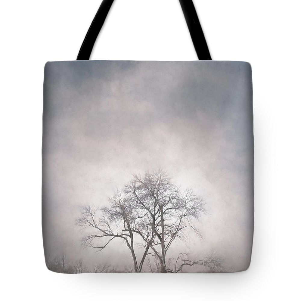 Scott Norris Photography Tote Bag featuring the photograph Two Trees by Scott Norris