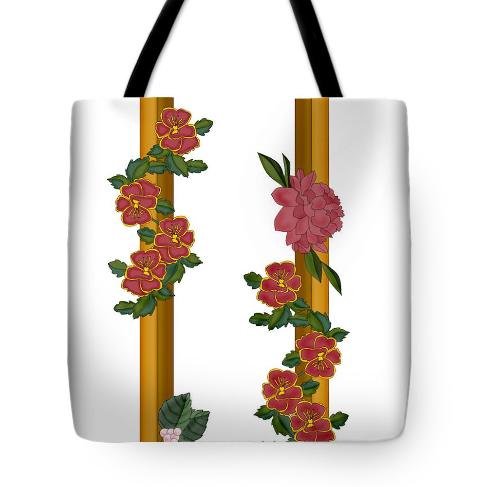 U Tote Bag featuring the painting U Is For Understanding by Anne Norskog