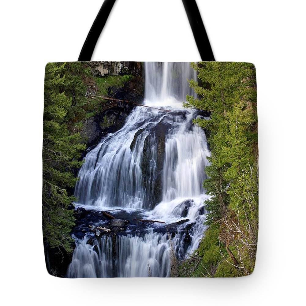 Udine Falls Tote Bag featuring the photograph Udine Falls by Marty Koch