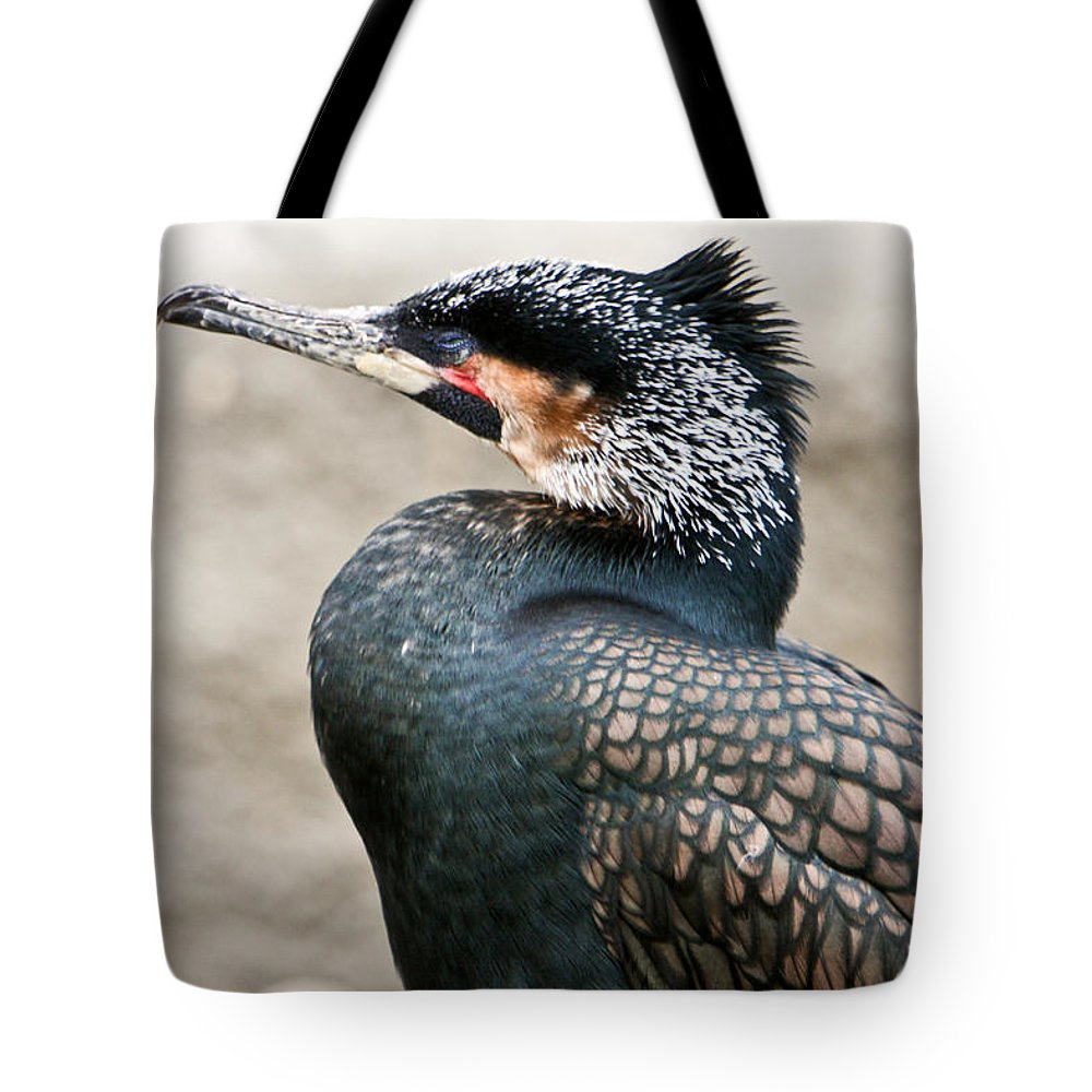 Ugly Tote Bag featuring the photograph Ugly Bird by Douglas Barnett