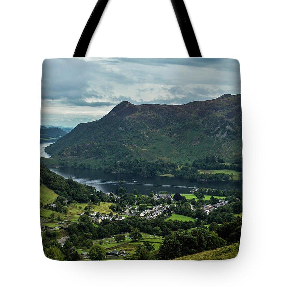 Grasmere Tote Bag featuring the photograph Ullswater by Natasha Larkin