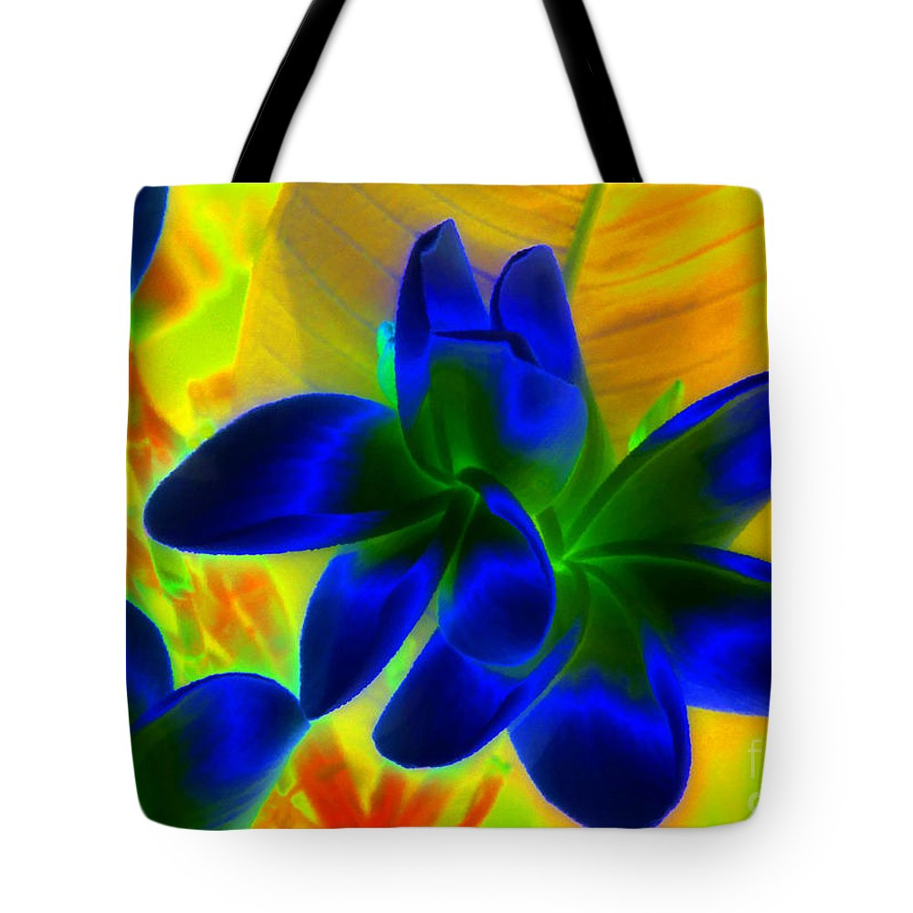 Ultraviolet Tote Bag featuring the painting Ultraviolet by David Lee Thompson