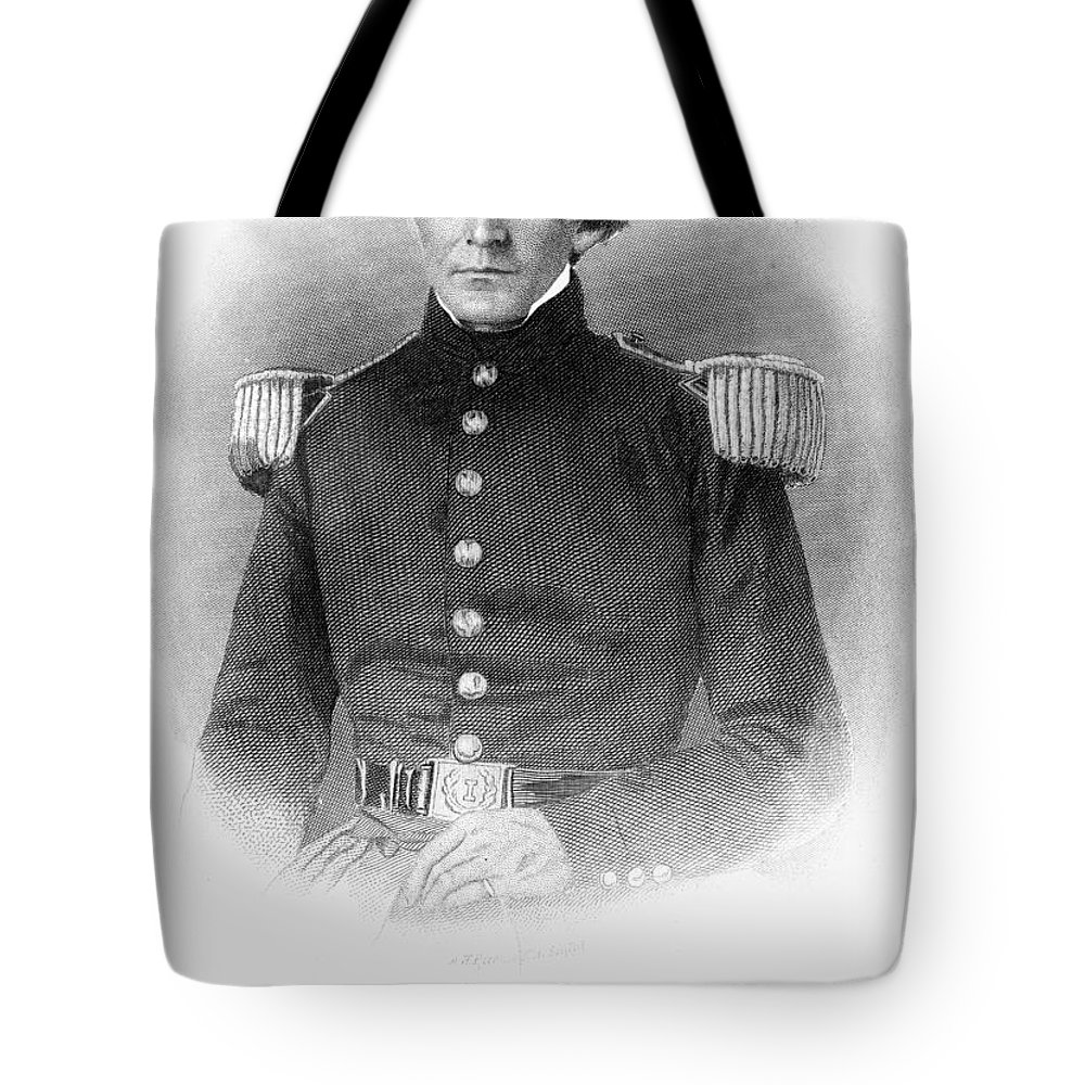 1840s Tote Bag featuring the photograph Ulysses S. Grant (1822-1885) by Granger