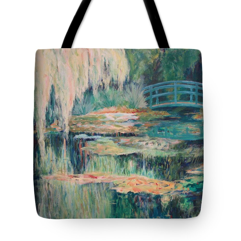 Impressionism Tote Bag featuring the painting Unassuming Grace by Tara Moorman