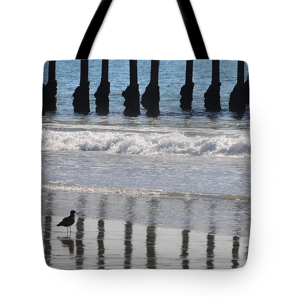 Ocean Tote Bag featuring the photograph Uncaged by Dan Holm