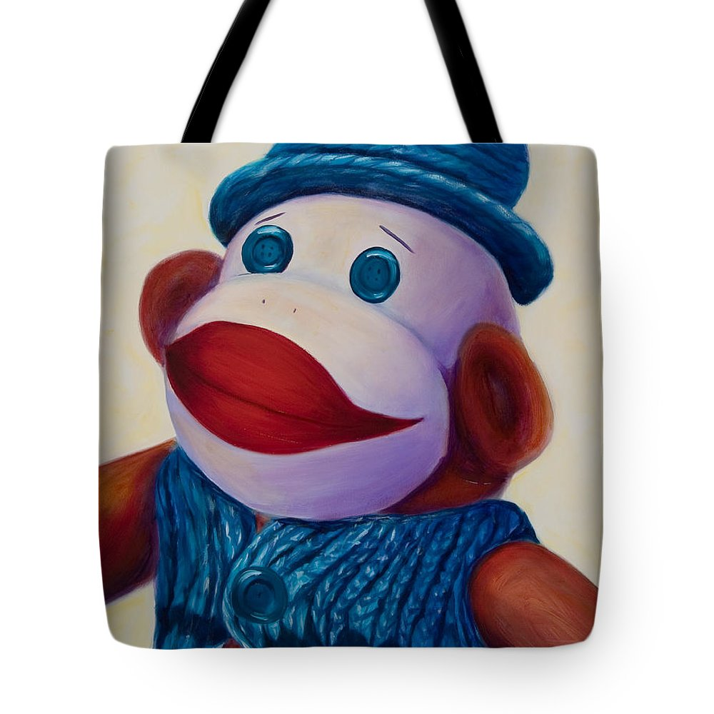 Children Tote Bag featuring the painting Uncle Frank by Shannon Grissom
