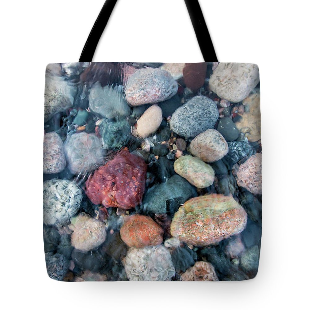Rocks Tote Bag featuring the photograph Unclouded by Lee and Michael Beek