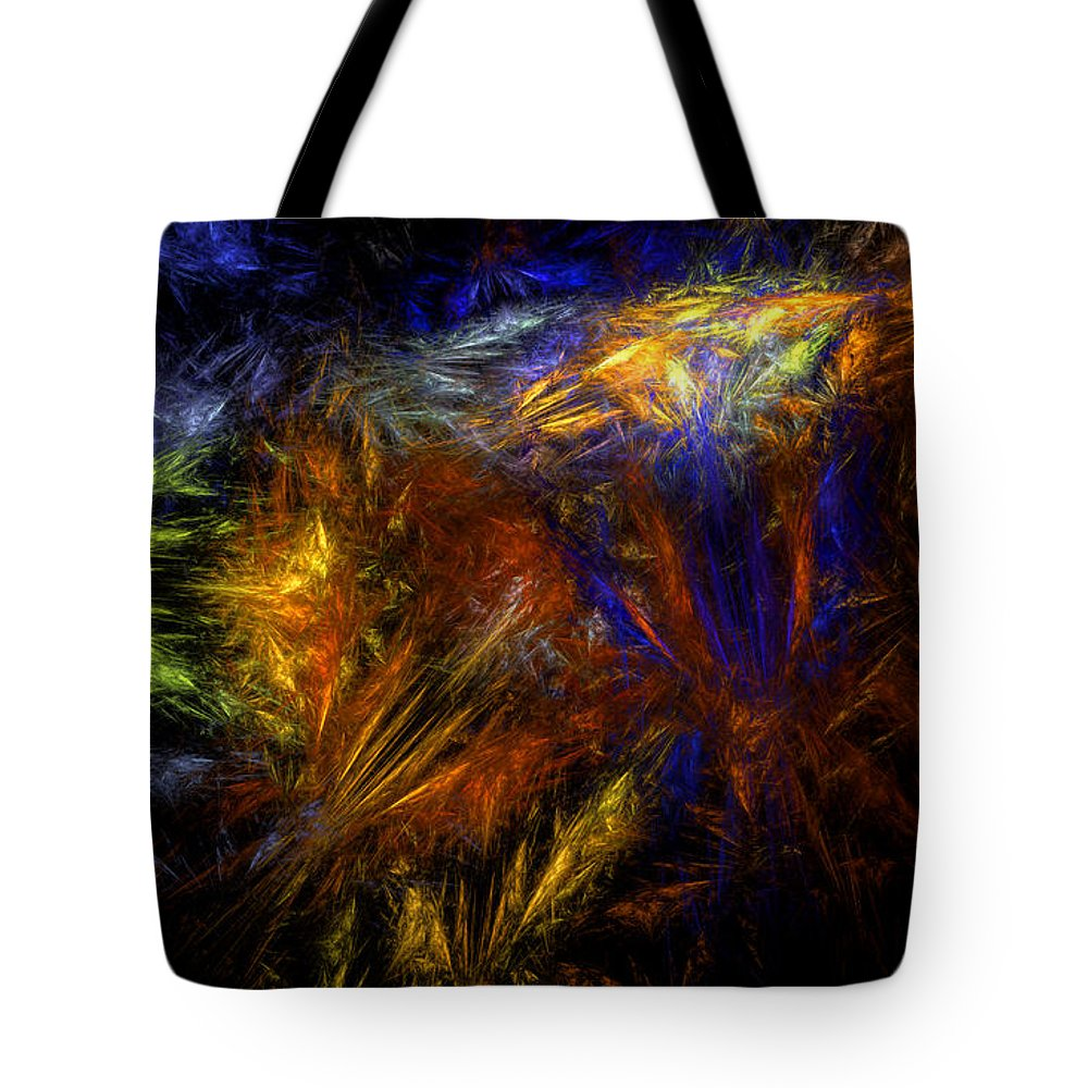 Undelivered Tote Bag featuring the digital art Undelivered by Brainwave Pictures