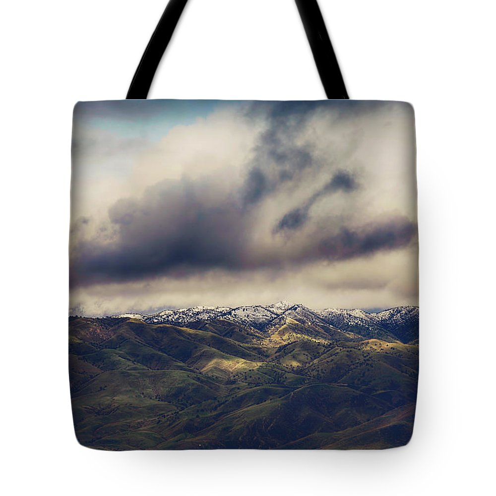 Tehachapi Tote Bag featuring the photograph Undeniable by Laurie Search