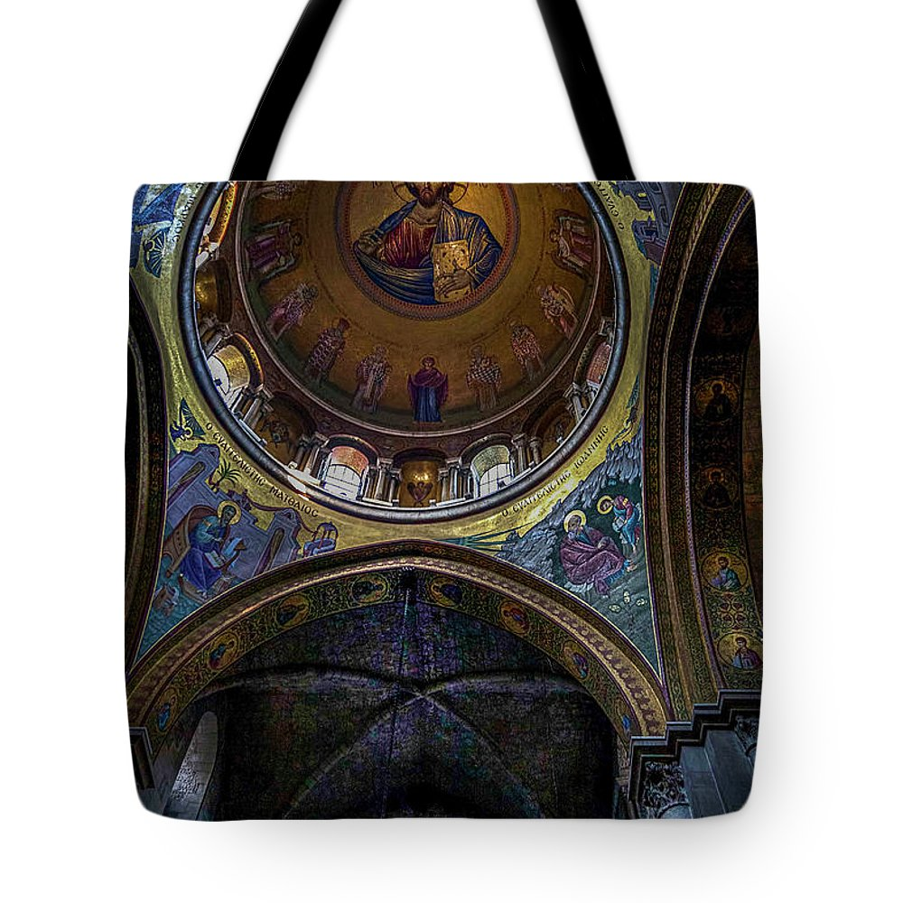 Endre Tote Bag featuring the photograph Under The Dome by Endre Balogh