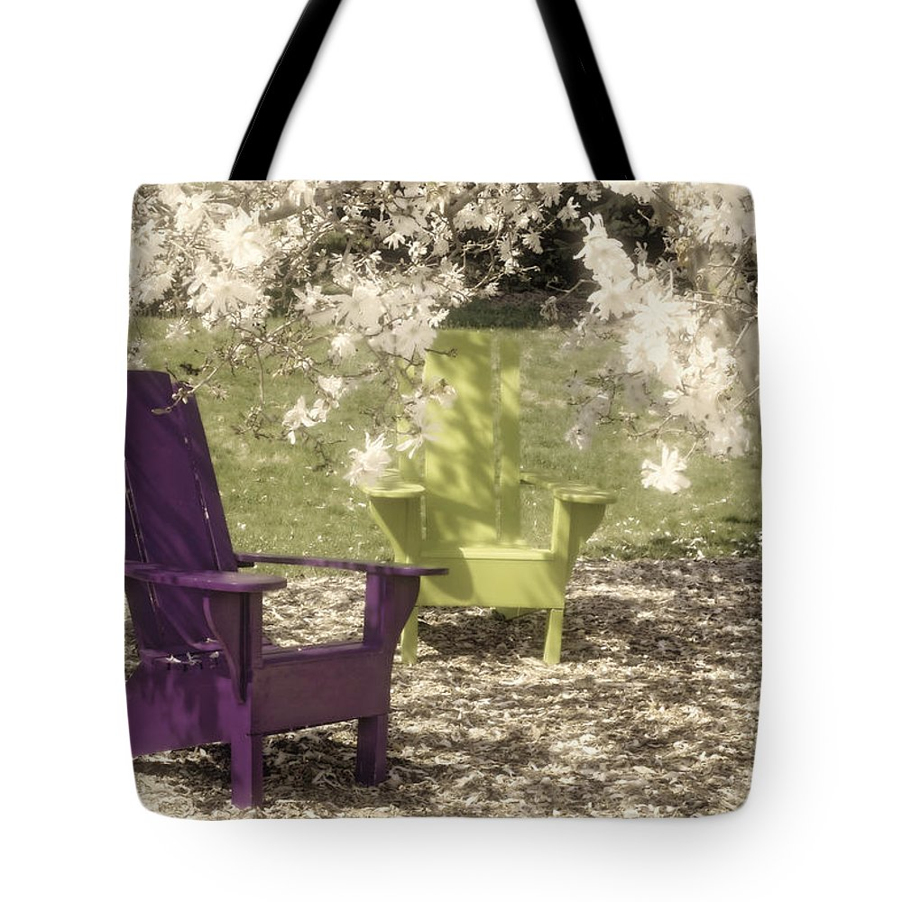 Flowering Trees Photographs Tote Bags