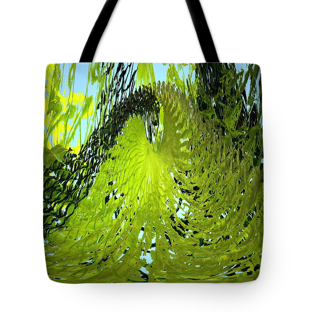 Seaweed Tote Bag featuring the photograph Under Water by Merja Waters
