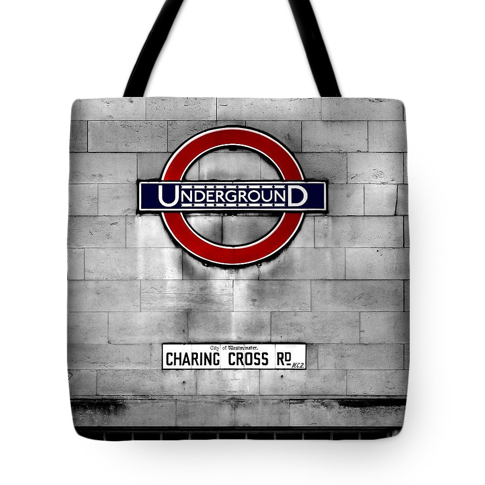 Underground Tote Bag featuring the photograph Underground by Mark Rogan