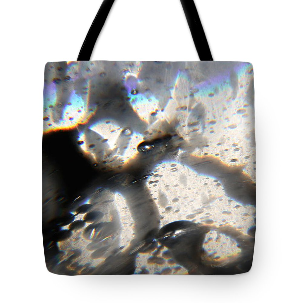Rainbow Tote Bag featuring the photograph Underneath The Rainbow by Mandy Shupp
