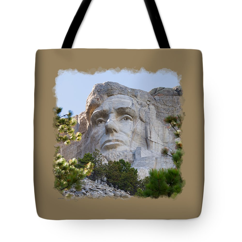 Landscape Tote Bag featuring the photograph Unfinished Lincoln 3 by John M Bailey