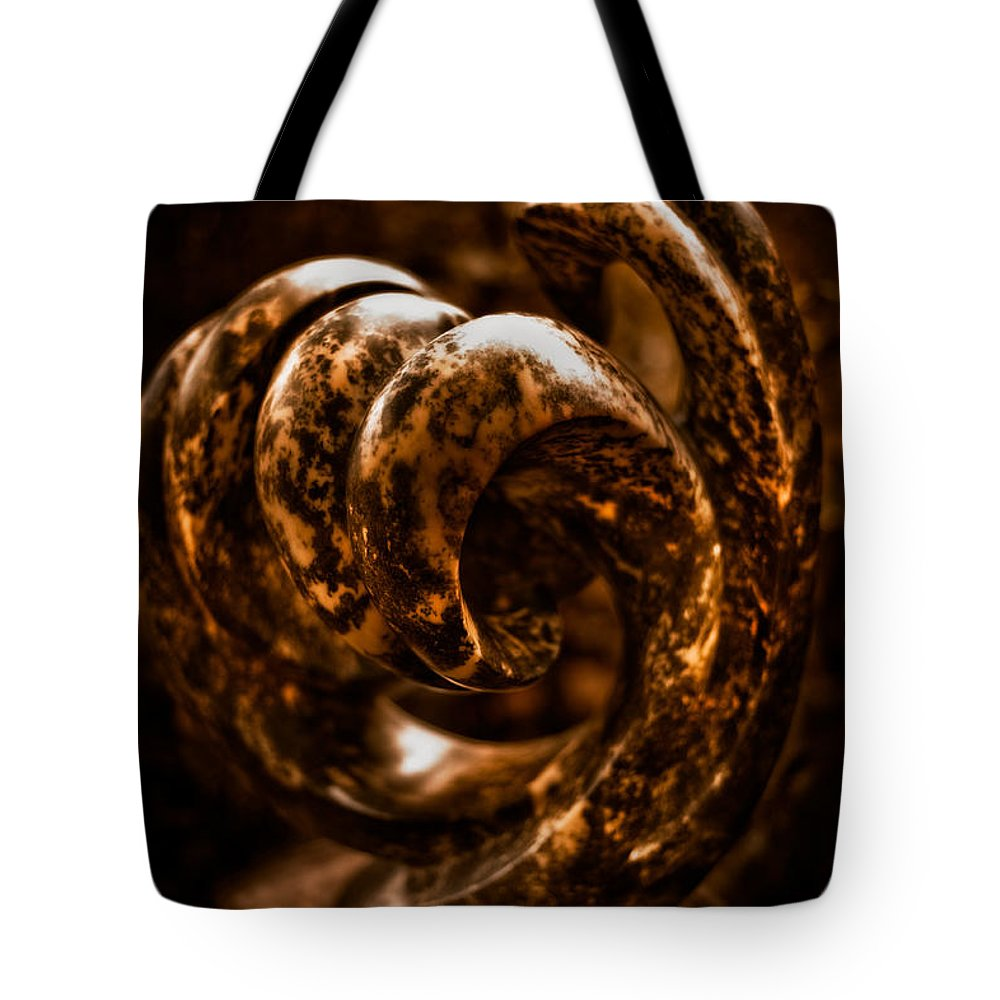 Art Tote Bag featuring the photograph Unfurling by Venetta Archer