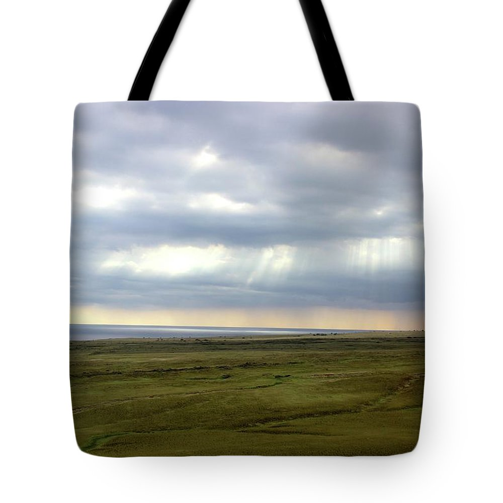 Light Tote Bag featuring the photograph Uninhabited by Gabrielle Finear