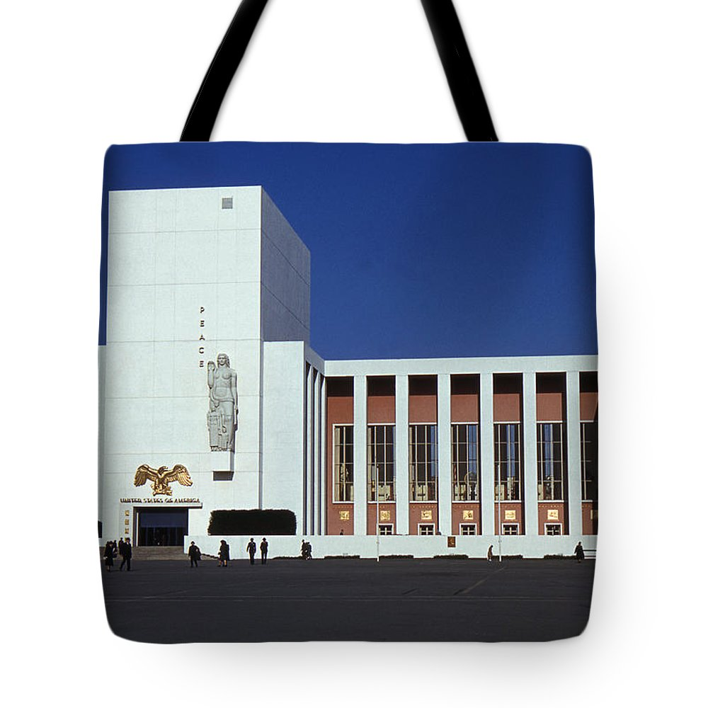 United States Tote Bag featuring the photograph United States Pavilion Lc by David Halperin