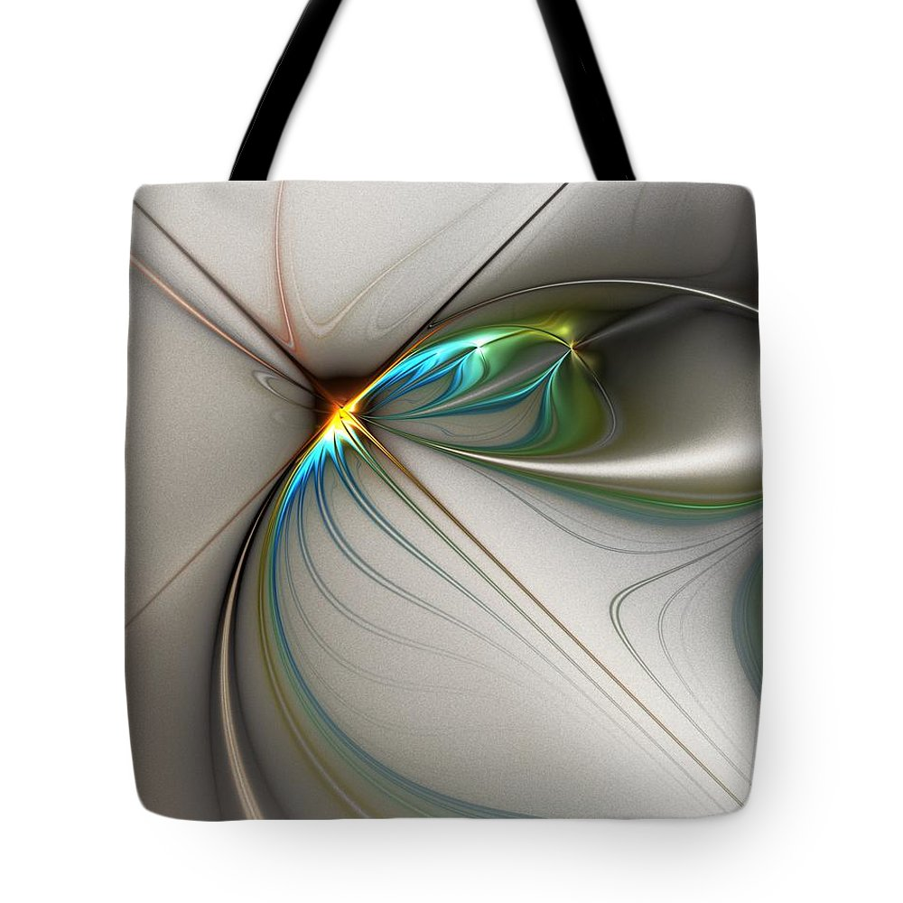 Digital Painting Tote Bag featuring the digital art Untitled 02-16-10-a by David Lane