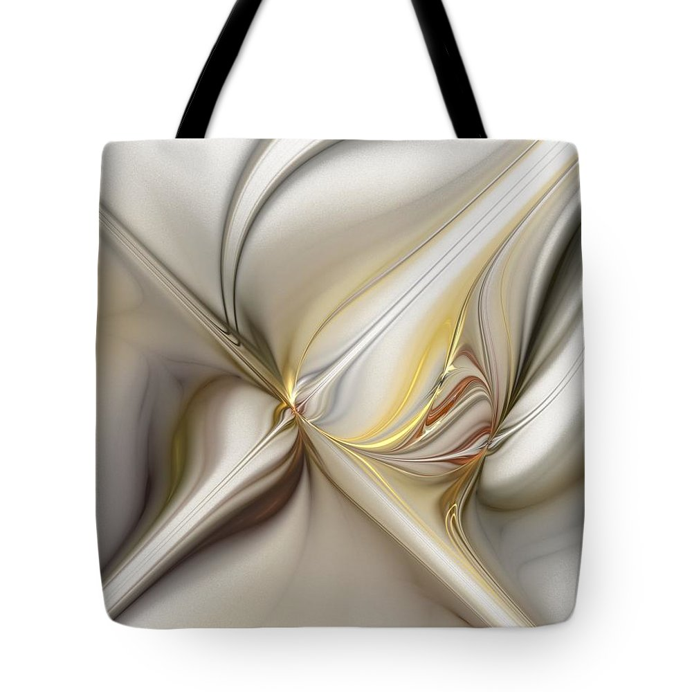 Digital Painting Tote Bag featuring the digital art Untitled 02-16-10 by David Lane