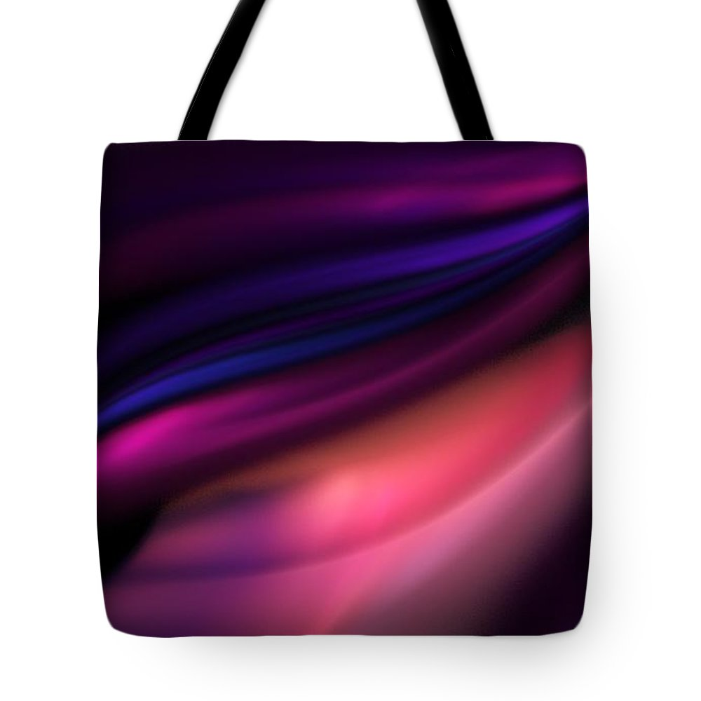 Fantasy Tote Bag featuring the digital art Untitled 12-10-09 by David Lane