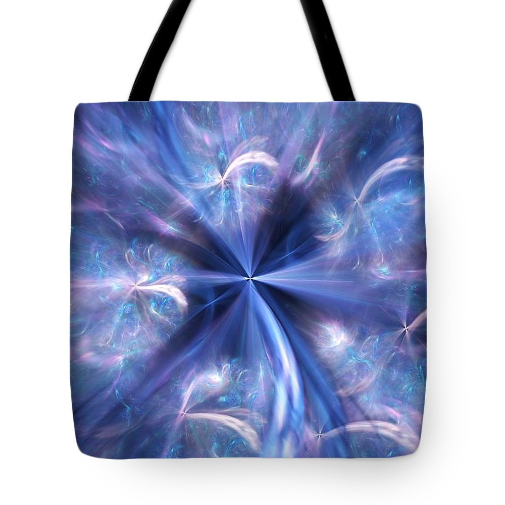 Digital Photography Tote Bag featuring the digital art Untitled 12-13-09 by David Lane