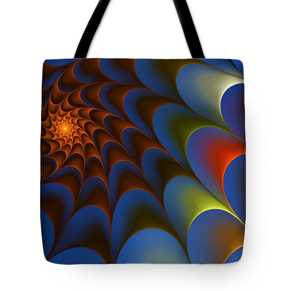 Digital Painting Tote Bag featuring the digital art Untitled 3-23-10 by David Lane
