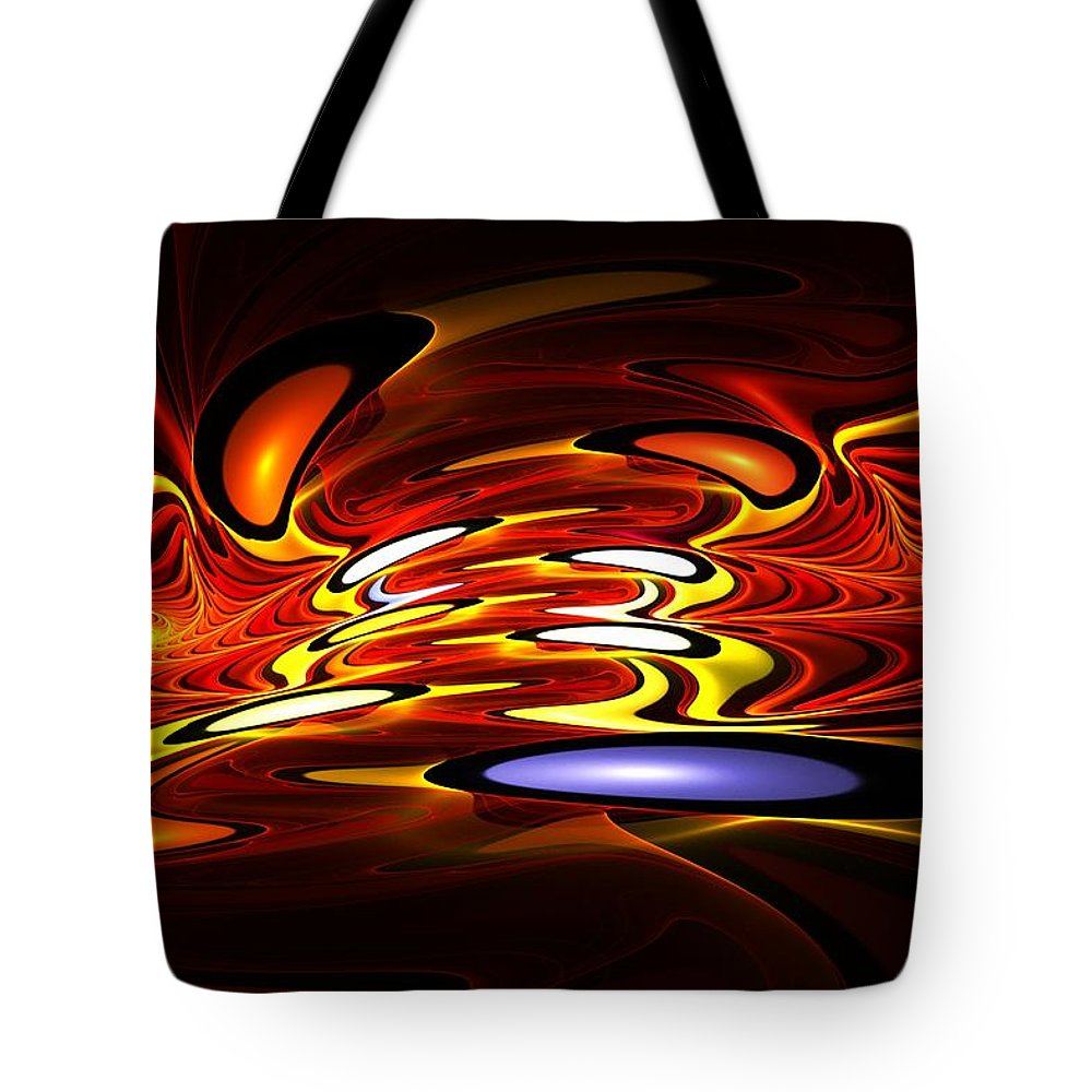 Digital Painting Tote Bag featuring the digital art Untitled 3-28-10-a by David Lane