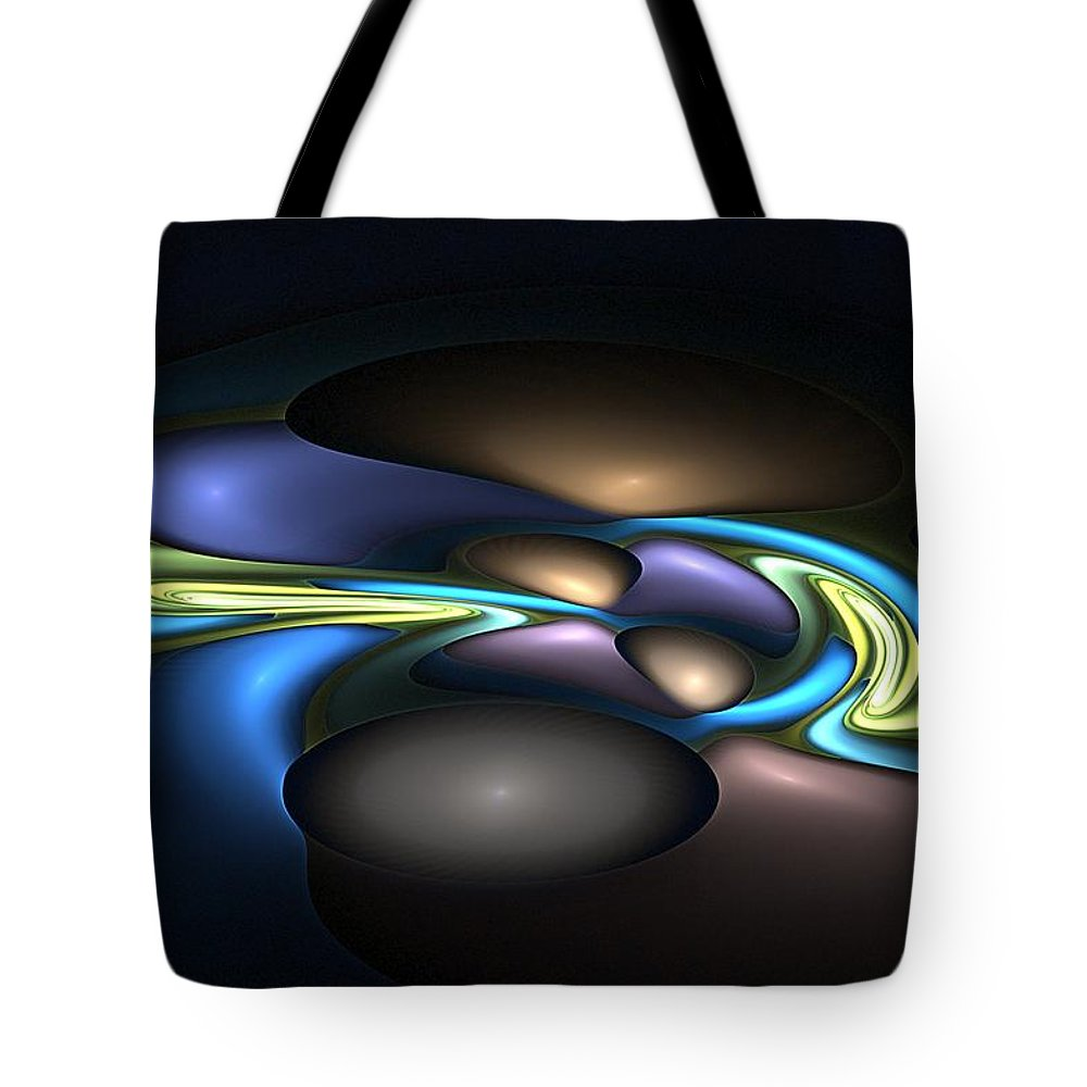 Digital Painting Tote Bag featuring the digital art Untitled 3-28-10 by David Lane