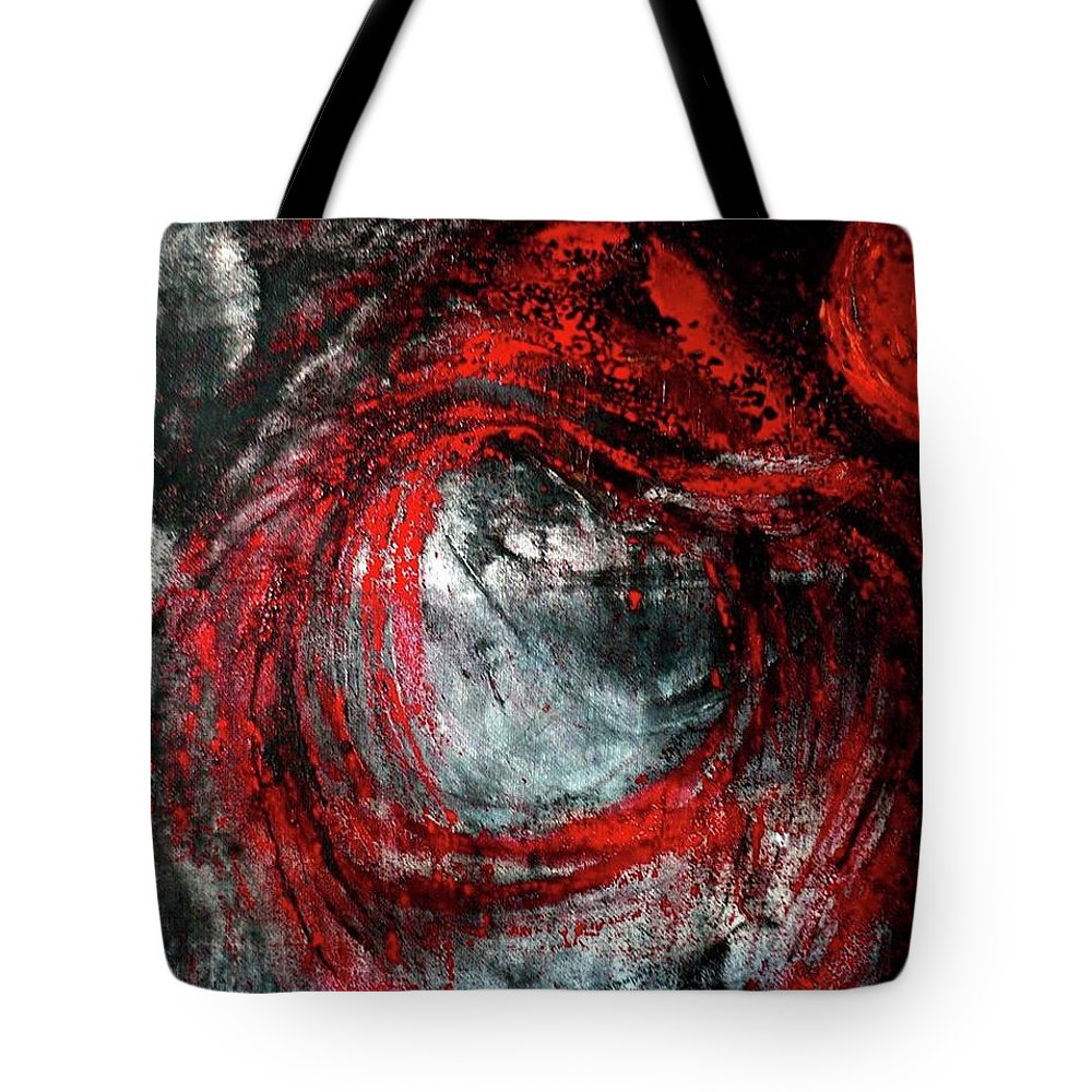 Interior Tote Bag featuring the painting Bellatrix by 'REA' Gallery