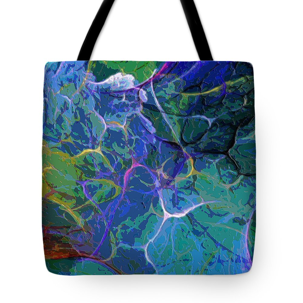 Digital Painting Tote Bag featuring the digital art Untitled 5-2-10-a by David Lane