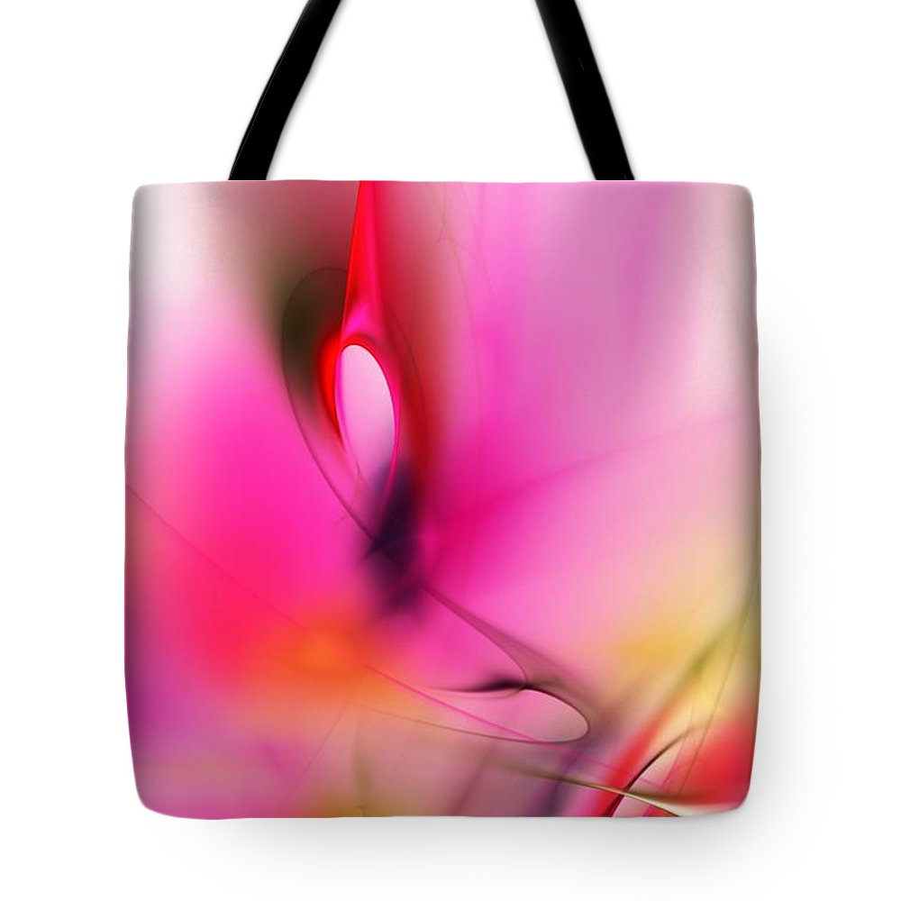 Digital Painting Tote Bag featuring the digital art Untitled 5-2-10 by David Lane