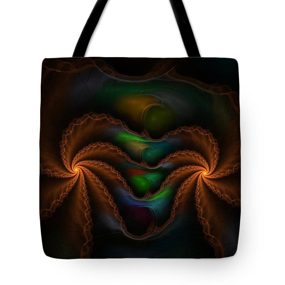 Digital Painting Tote Bag featuring the digital art Untitled 5-3-10 by David Lane
