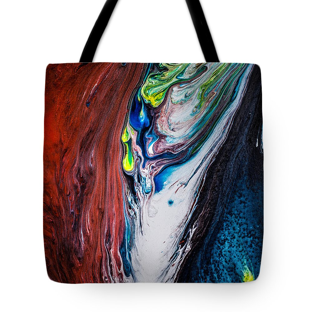 Tote Bag featuring the painting Untitled 52 by Cesar Rodrigues
