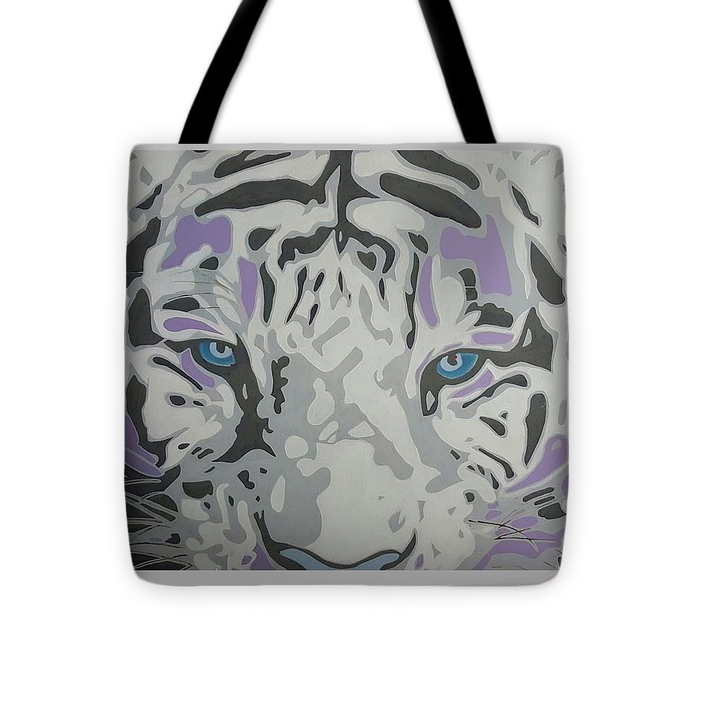 Tote Bag featuring the painting Untitled by Markel Lee