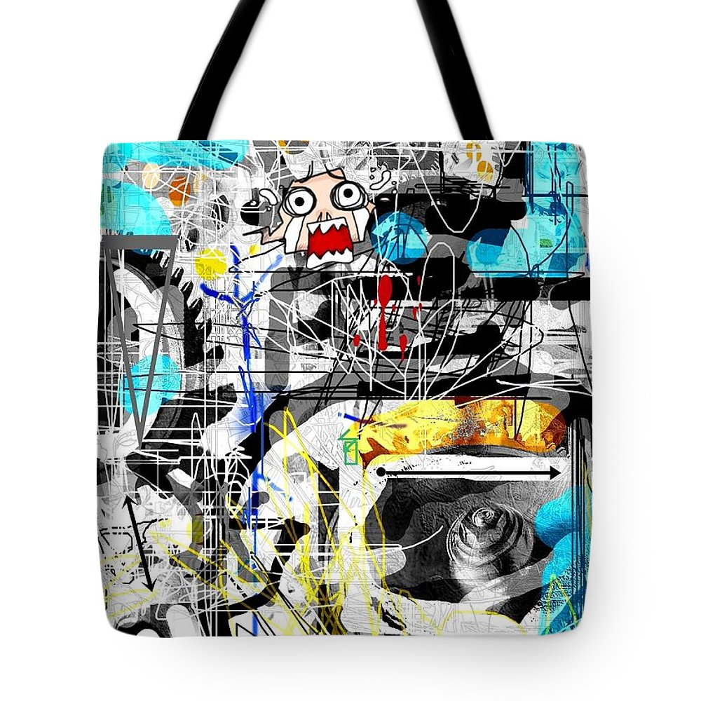Poster Tote Bag featuring the digital art Untitled by Thomas Voigt