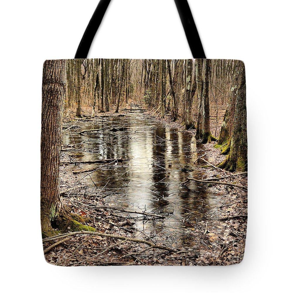 Cold Tote Bag featuring the photograph Untitled1 by Jeff Breiman