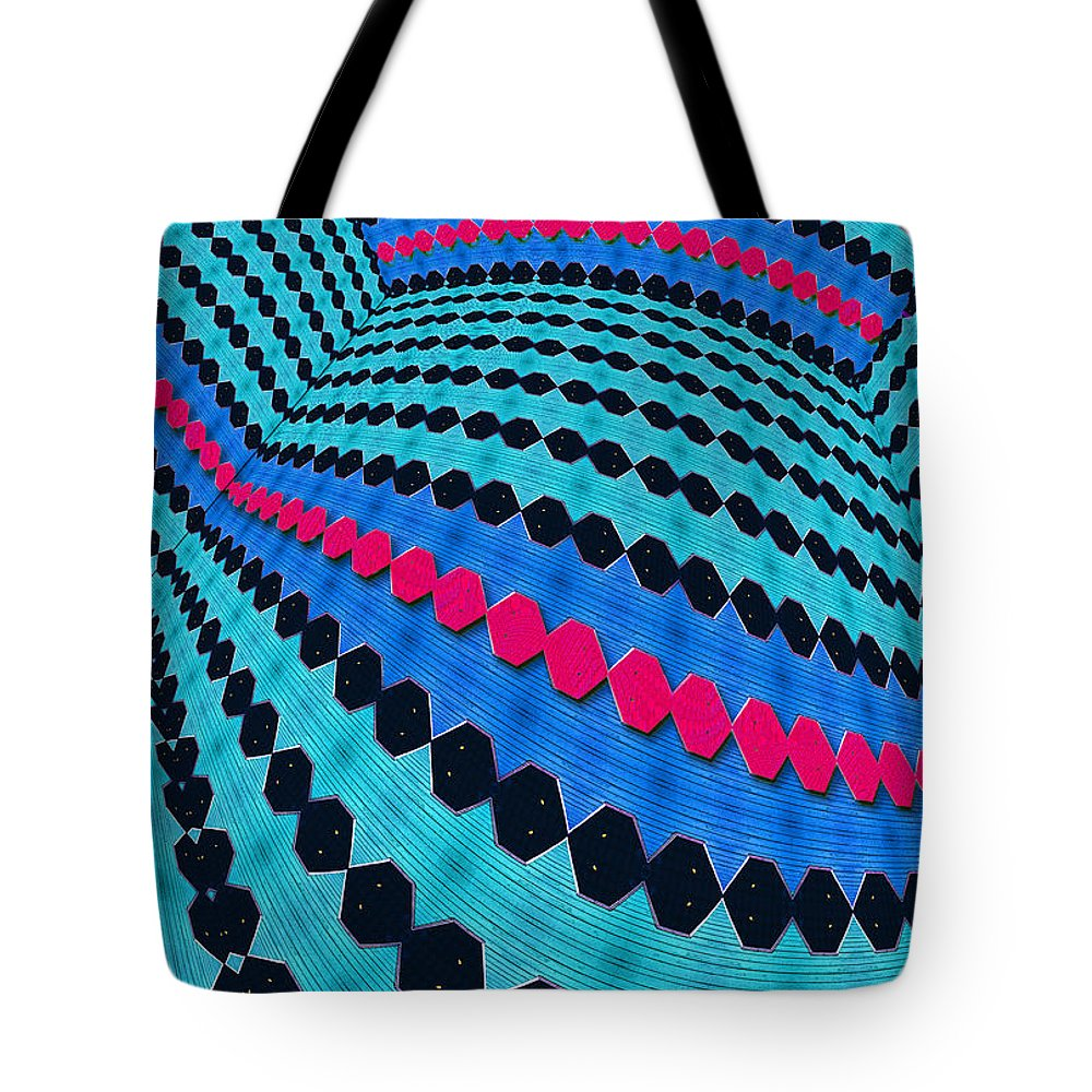 Photography Tote Bag featuring the photograph Up Across And Back by Paul Wear
